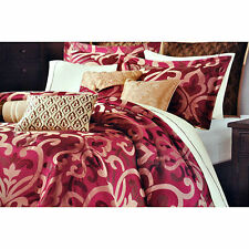 Sancerre 16 pc. Queen Luxury Bedding Ensemble (sheet set included) Red