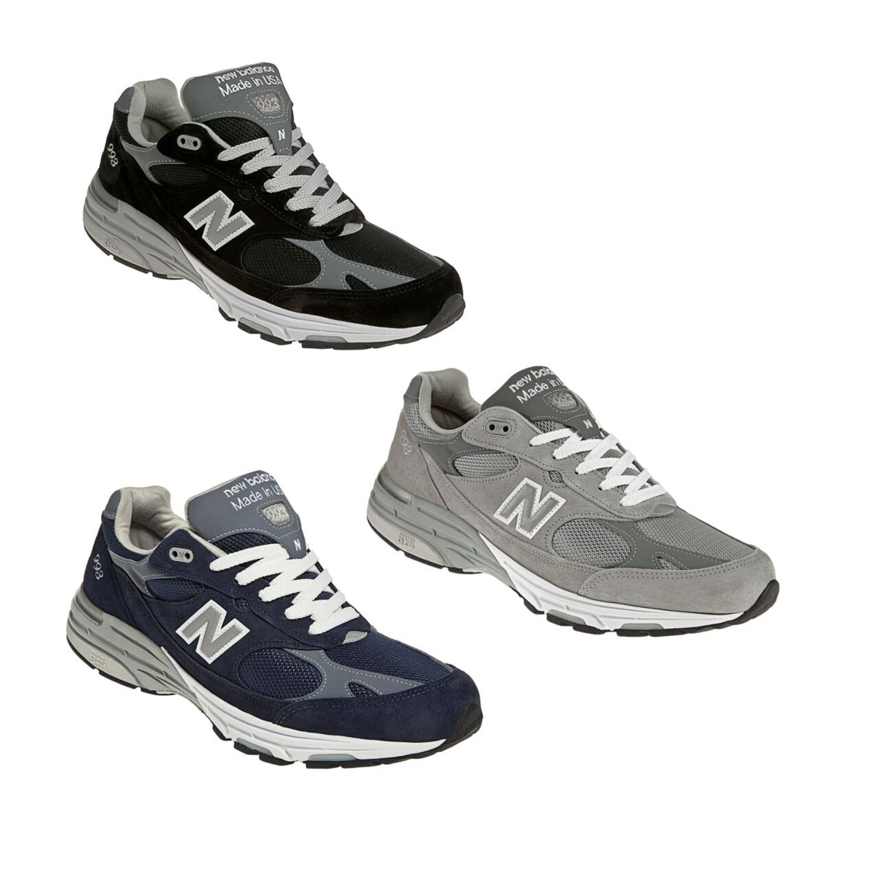Men's New Balance MR993 Running shoes MR993BK MR993GL D 2E USA Made