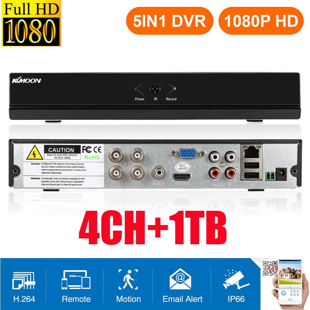 1TB 720P H.264 Hikvision DS-7208HGHI-SH-1TB 8 Channel Turbo HD DVR ...