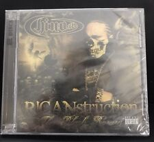 Chino XL - Ricanstruction: The Black Rosary [New Sealed CD] Explicit - Rap Music
