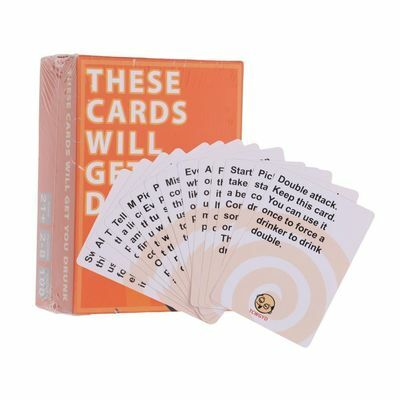 These Cards Will Get You Drunk-Fun Adult Drinking Game For Party 2-8 Players UK