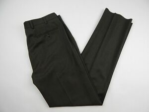 Brooks-Brothers-Fitzgerald-Fit-Wool-Gabardine-Trousers-Pants-Men-039-s-sz-36-New-2