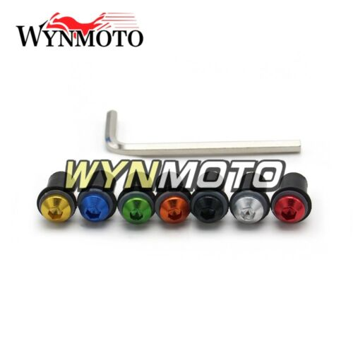 Motor Windshield Bolts Kits for Honda CBR600F4i 2001 2002 2003 Windscreen Screws