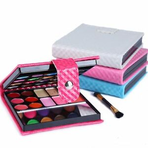 Pro-32-Colors-Shimmer-Eyeshadow-Eye-Shadow-Palette-amp-Makeup-Cosmetic-Brush-Set