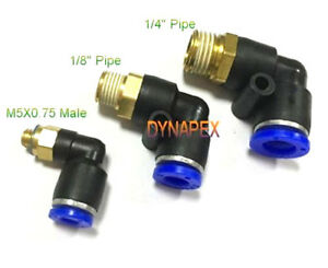 """Pneumatic Push In Air Fitting Straight Female Connector 5//32/""""OD*1//4/""""NPT"""