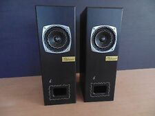 FIBHORN Model 6En  audiophile speaker pair w NOS FOSTEX 103, EnABL process