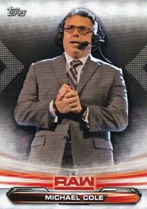 2019-Topps-Wwe-Raw-Lutte-Cartes-a-Collectionner-48-Michael-Cole