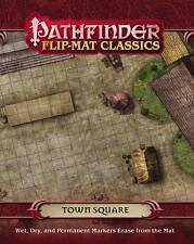 Pathfinder Flip Mat Classics Town Square Game by Paizo Publishing PZO 31010