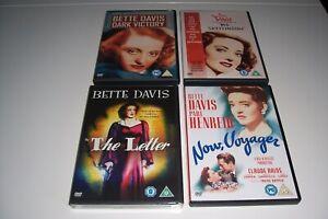 BETTE-DAVIS-Bundle-Original-Pal-UK-Dvds-4-DVDS-IN-TOTAL-Never-Played