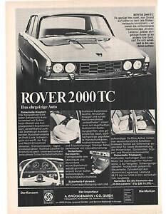 Historische Reklame - advert - ROVER -- 2000 TC - Annonce - Werbeanzeige - Reiskirchen, Deutschland - Historische Reklame - advert - ROVER -- 2000 TC - Annonce - Werbeanzeige - Reiskirchen, Deutschland