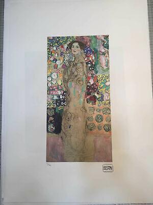 TREC certificato di autenticita/' Gustav Klimt litografia 50x70 cm ediz