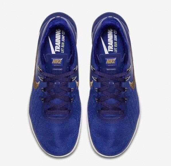 Nike Metcon 3 Royal REIGN AA3155-400 Concord Blau 38.5 Gold UK 5.5 EU 38.5 Blau 24cm New b13e58