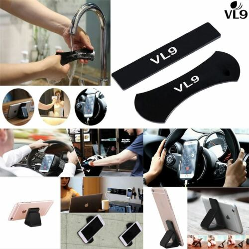 2 Pcs Gel Pad Sticky Anti Slip Nano Rubber Sticker Multi functional Phone Stand