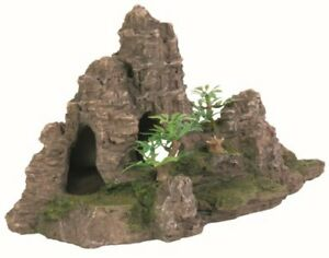 Rocher Escalier avec Plante pour Aquarium 22 cm Trixie 8853 divers