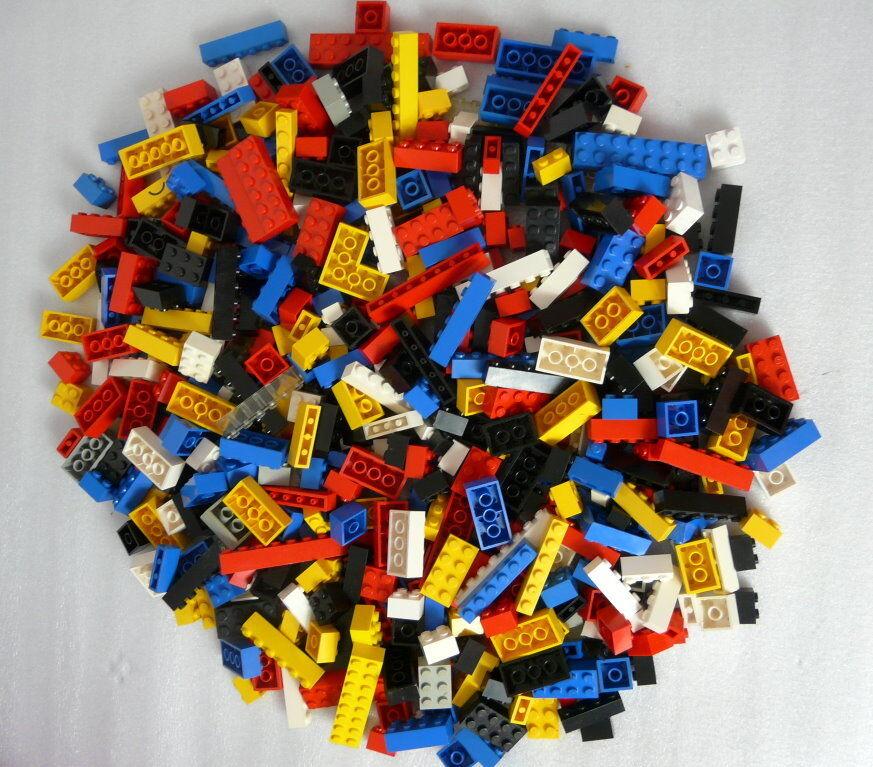 600 LEGO Basic Steine    tolle Mischung   - gut und sauber. 2c9e8b