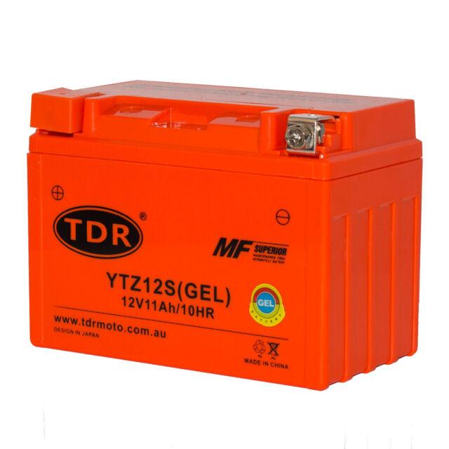 YTZ12S 12V GEL Battery Honda Shadow Spirit 750 C2 DC VT750  VT1100C  1997-2014