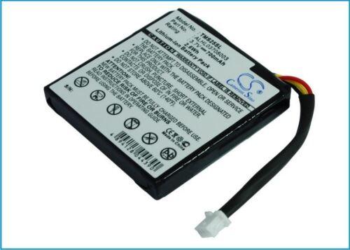 Batería De Calidad Ajuste RoHS TomTom 4EV42 700mAh Li-Ion