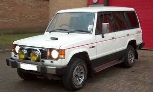 FITS Mitsubishi Shogun / Pajero MK1 Windscreen Rubber (Solid Type)  1983 to 1991