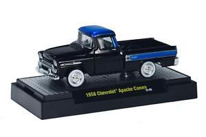 1958-Chevrolet-Apache-CAMEO-nero-M2-MACHINES-AUTO-CAMION-21b-1-64