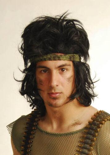 Rambo Style Wig