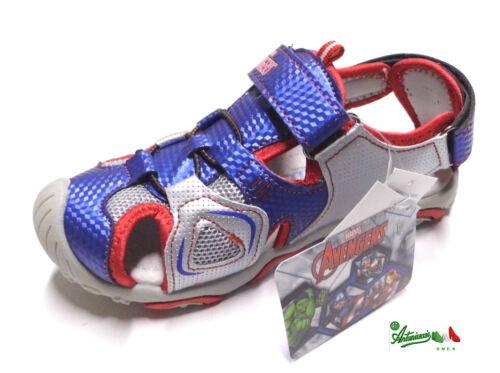 AVENGERS sandali da trekking puntachiusa bambino sottopiedePelle strappo MARVEL