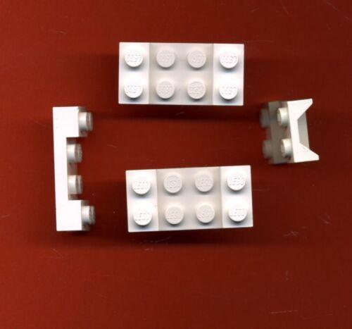 Kotflügel Lego--3788-- Platte 4 Stück Weiß 2 x 4