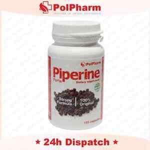 PIPERINE FORTE 120 CAPS Chrome Green Tea Fat Burner