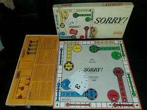 Vintage Parker Brothers SORRY! Board Game Complete Box Ripped GAME  EXCELLENT! | eBay
