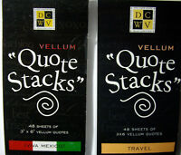 Travel Or Mexico Your Choice Vellum quote Stacks Words Phrases Dcwv