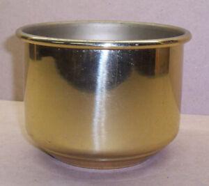 Messing Schale Durchmesser 13,5 cm; Höhe 10,5 cm
