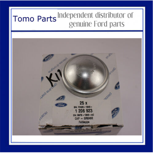 FIESTA REAR HUB GREASE CAP 1989-2008 NEW GENUINE FORD KA 1206923 FOCUS