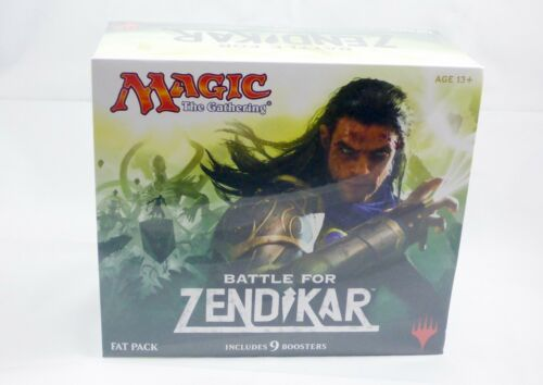 Battle for Zendikar Fat Pack Bundle Magic MtG FACTORY SEALED NEW