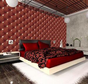 3D-SOFT-LEATHER-EFFECT-Photo-Wallpaper-Wall-Mural-Rainbow-CHESTERFIELD-ART-DECOR