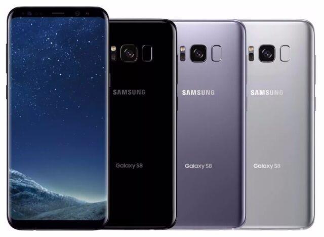 Samsung Galaxy S8+ SM-G955U - 64GB - Silver Gray Black  (AT&T) Unlocked A