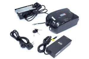 Batterie + Titulaire + Chargeur pour E-Bike Pedelec 24V / 9Ah / 216Wh
