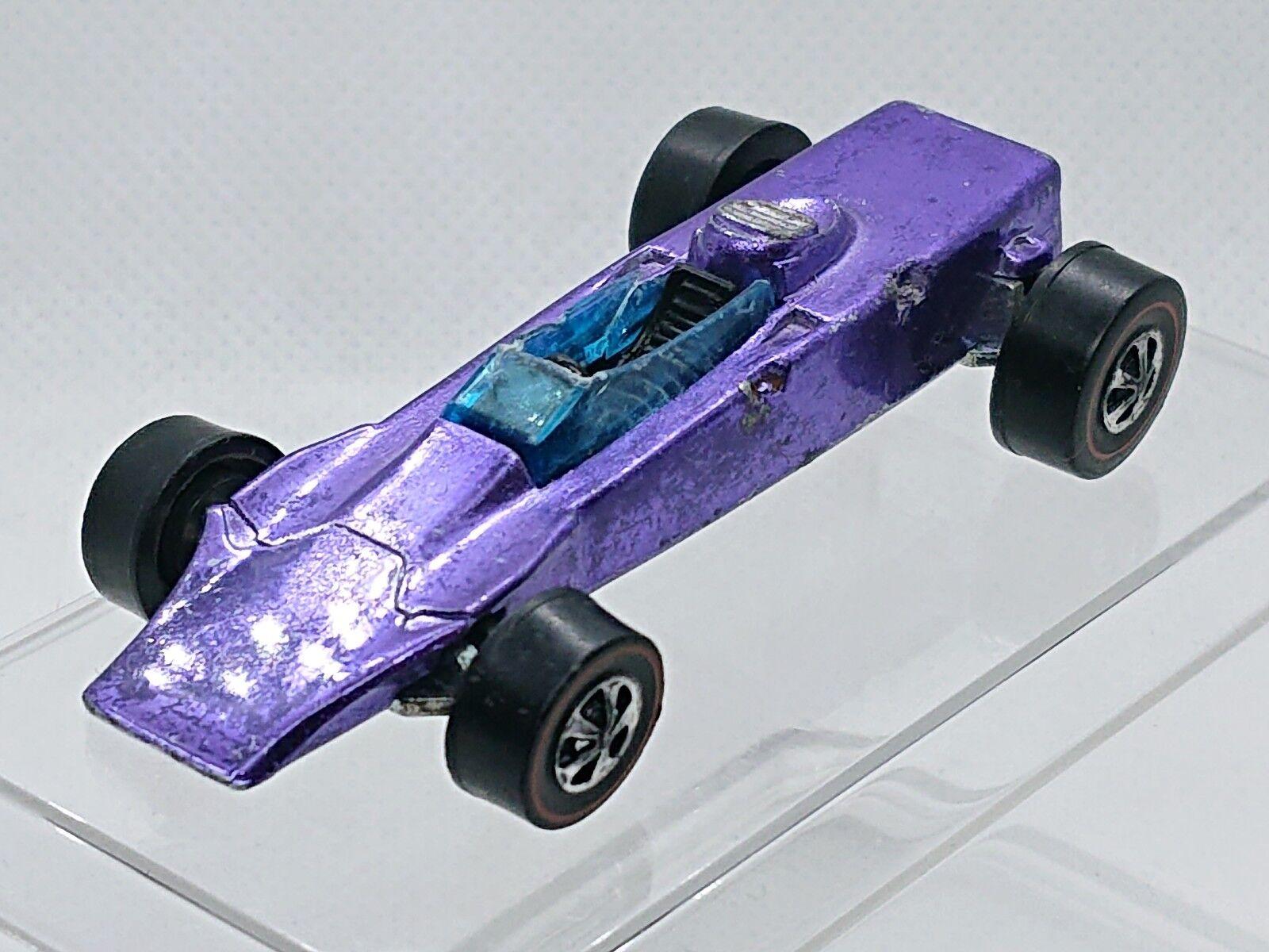 1969 Hot Wheels Lotus Turbina Spectraflame púrpura St   hw1154
