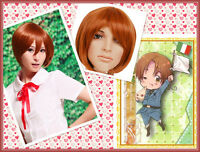 Axis Powers Hetalia APH Italy cosplay wig