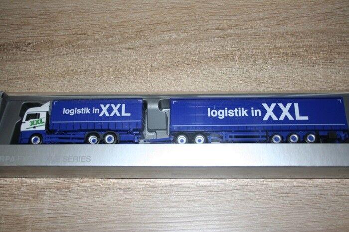 Herpa 930178 - 1 87 on XLX Euro 6 eurocombi-logistique en XXL-NEUF
