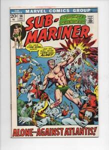 SUB-MARINER-56-VF-Adkins-Atlantis-Marvel-1968-1972-more-in-store