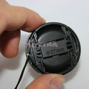New-Design-37mm-Center-Pinch-Snap-on-Front-Cap-Cover-for-Sony-Lens-Filter-TO