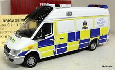 Fire Brigade models 1/43 Scale 02-10 Mercedes Sprinter Tayside Police van model