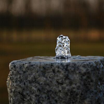 led ring weiss f r quellstein springbrunnen pumpe kranz. Black Bedroom Furniture Sets. Home Design Ideas