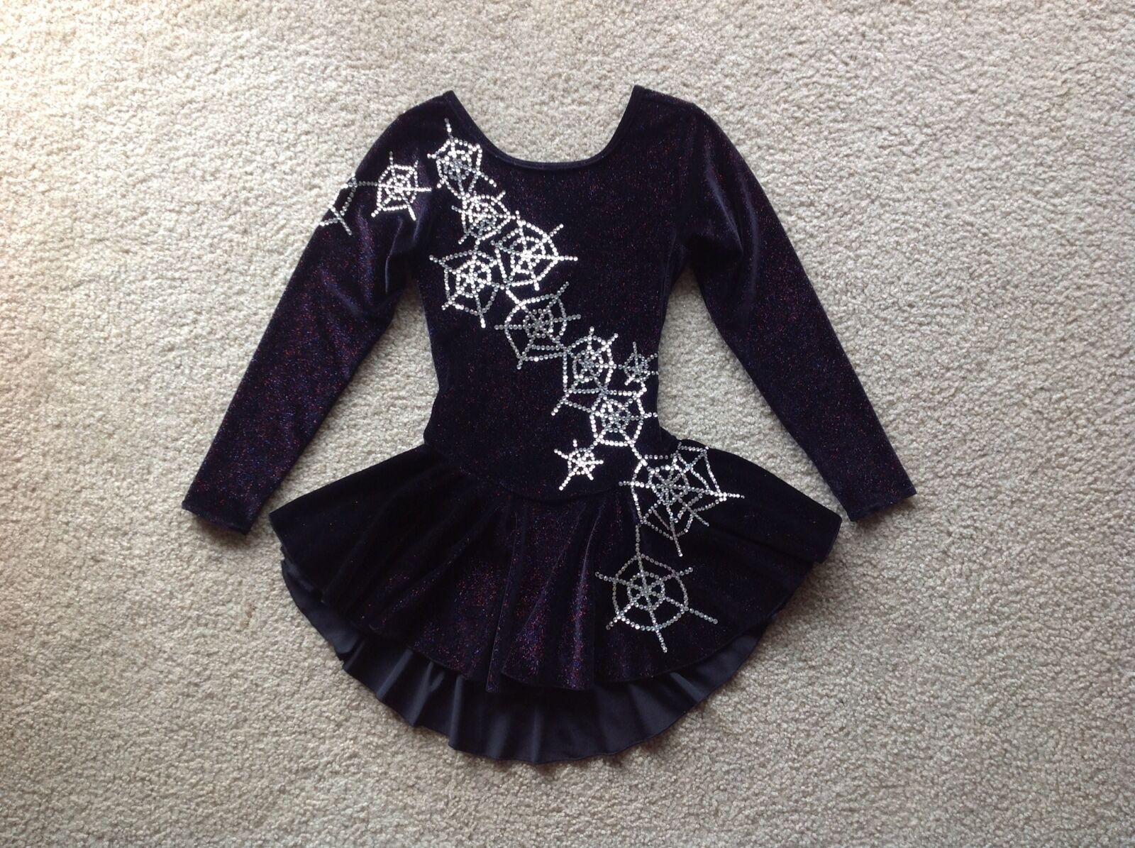 New Girls Ice Figure Skating Competition Dress Size 12-14
