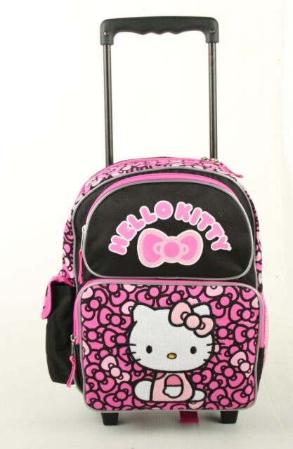 Hello Kitty 12'' Rolling BackPack