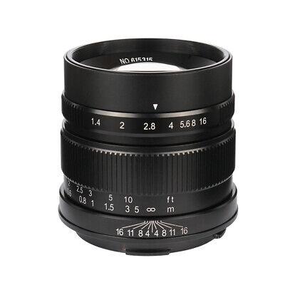 7artisans 55mm/F1 4 Large Aperture APS-C Manual Fixed Lens for leica-T  Mount | eBay