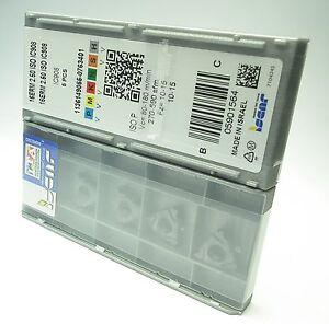 ISCAR plaques de filetage 16erm 2,50 ISO ic908 NEUF 5 pièce
