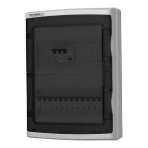 Details about Doktorvolt® 3-Phase RCCB Garage Home Consumer Unit Box on