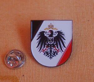 Kaiserreich-Adler-Wappen-Schild-Pin-Anstecker-Badge-Button-TOP