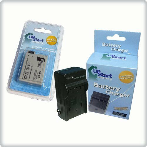 LP-E8 BATTERY+CHARGER FOR CANON EOS 550D Kiss X4 Rebel T2i - Lifetime Warranty
