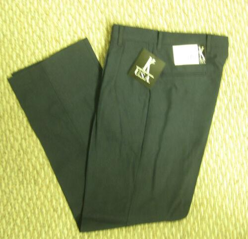 Boys Navy Blue Black Uniform pleat Dress Pants 4 8 10  12 14 16 slim NEW USA